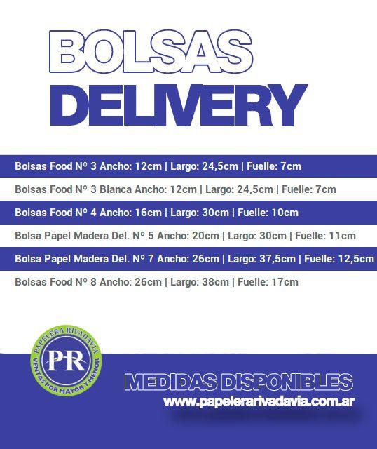 Medidas Bolsa Delivery