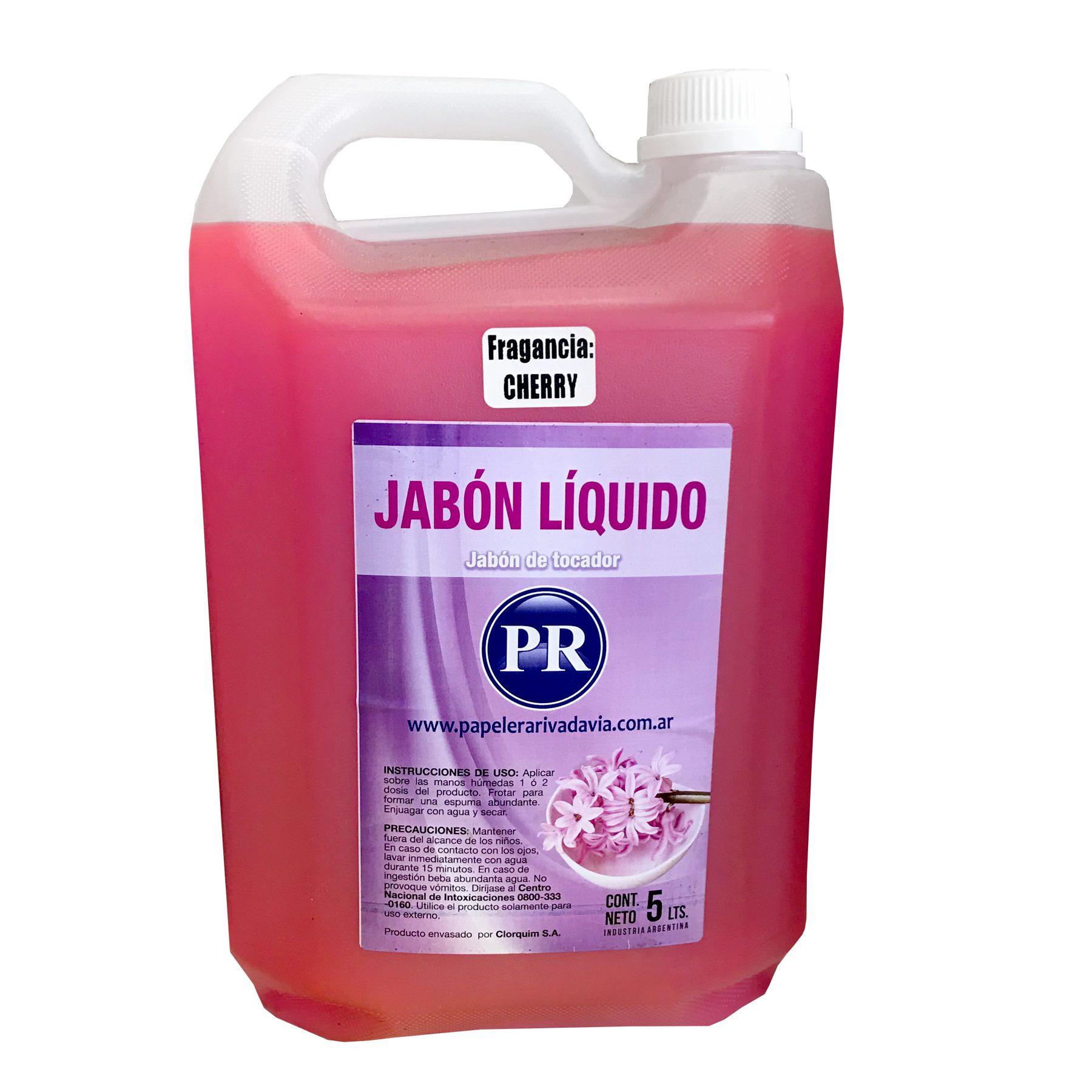JABON LIQUIDO DE TOCADOR BIDON DE 5 LITROS